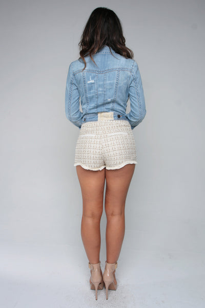LET'S TWEED ABOUT IT SHORTS