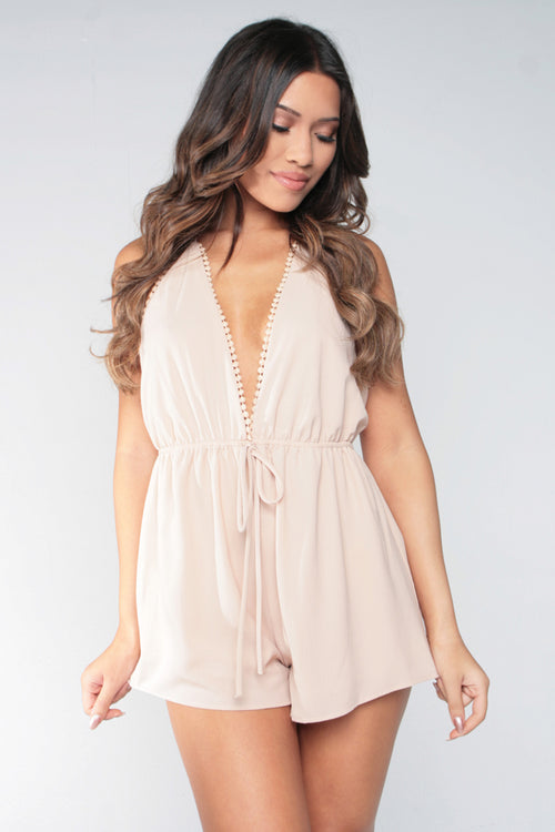 SO NUDE ROMPER