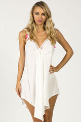 EASY BREEZY SUMMER DRESS - WHITE