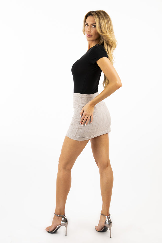 GET PROMOTED MINI SKIRT