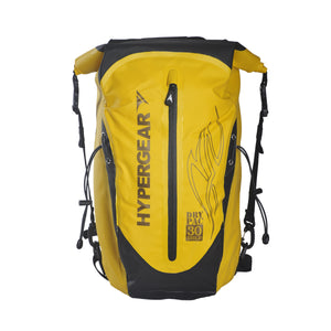 Dry Pac Pro Gold 30L + Rain Cover Black