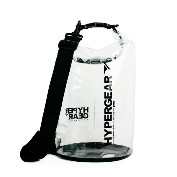 Dry Bag 10L Clear Type + Dry Bag Strap 'HYPERGEAR'