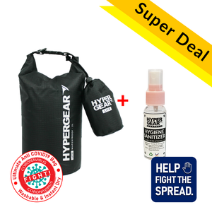 Mobile Defender Combo Starter Kit Spray - Dry Bag Lite 2L