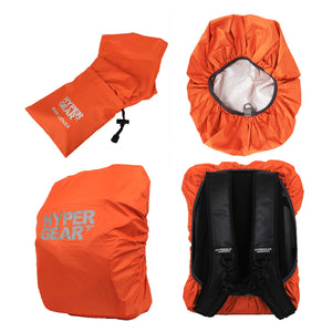 Matt Black Travel Protection Kit (Rain Cover + Neo Shield Face Cover + Gift Box)