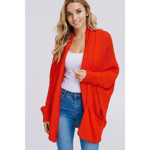 Open Front Boyfriend Cardigan - Love Her Luxe Boutique
