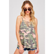 Can't Find Me Camo Tank Top - Love Her Luxe Boutique