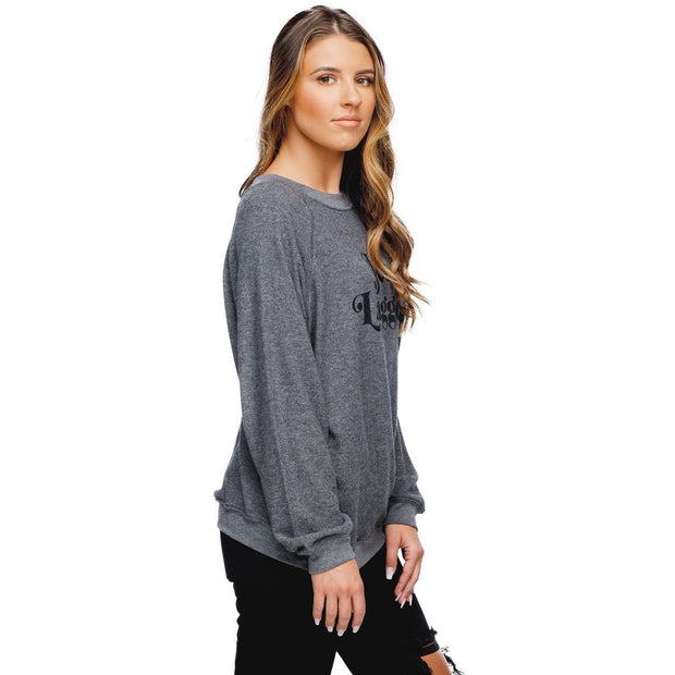 Travel in Comfort and Style with Our Jet Lagged Boyfriend Sweater from BuddyLove - Love Her Luxe Boutique