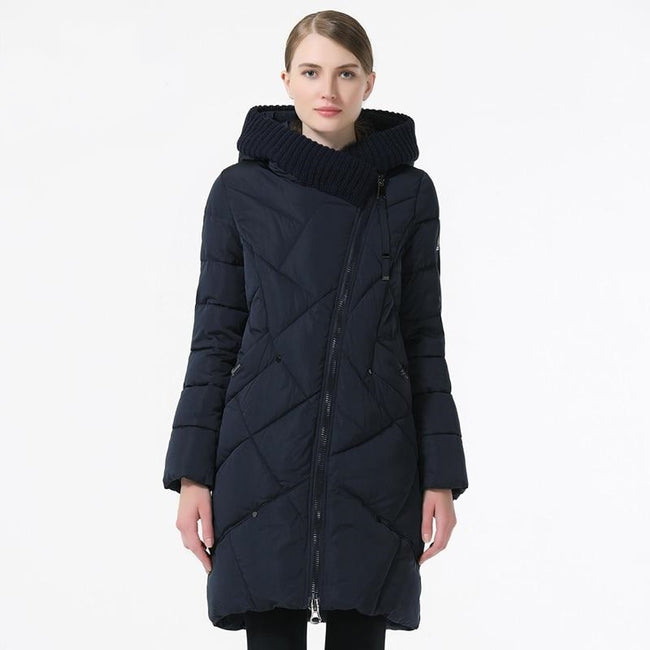 Women's Bio Cotton Hooded Parka