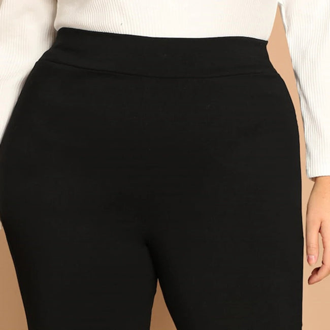 Black High Waist Active Wear Skinny Leggings