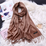 Large Soft Cashmere Scarf
