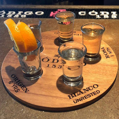 Shot Glass Flight Tray
