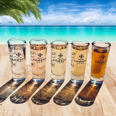 Codigo 1530 tequila shot glass shot glasses margarita vacation george strait
