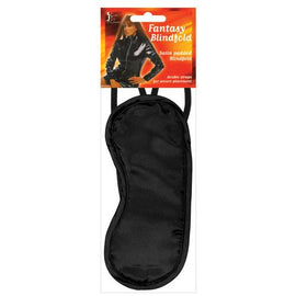 Erotic Toy Company Satin Fantasy Blindfold - Black