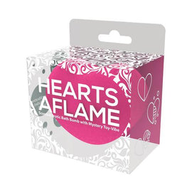 Hearts Aflame Erotic Lovers Bath Bomb