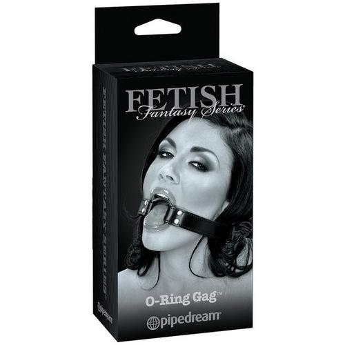 Fetish Fantasy Limited Edition O Ring Gag - Black