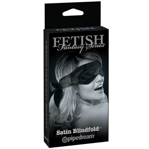 Fetish Fantasy Limited Edition Satin Blindfold - Black