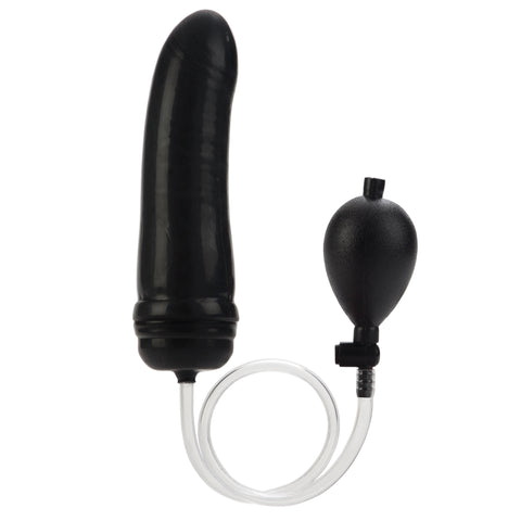 Colt Hefty Probe Inflantatable Butt Plug - Black