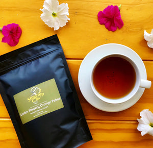 Golden Flowery Orange Pekoe (TGFOP) ~ Darjeeling Tea I Stovetop Chai