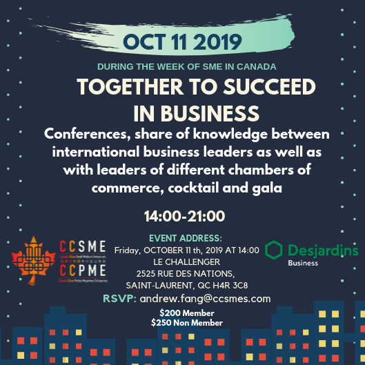 Table of 10 - SME Week 2019 - Together We Succeed in Business