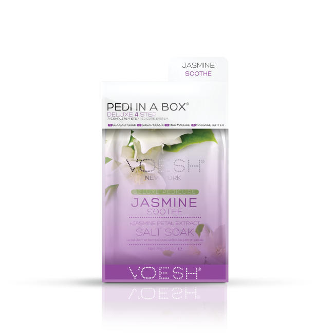 VOESH Pedi in a Box 4-step - Jasmine Soothe