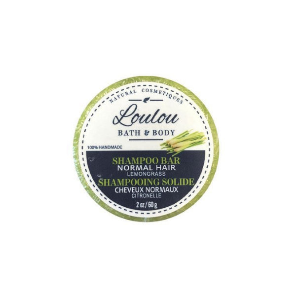 Loulou Shampoo Bar - Normal Hair (Lemongrass)
