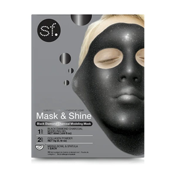 SKINFORUM Black Diamond Charcoal Modeling Mask