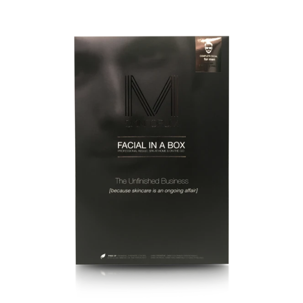 SKIN FORUM Facial in a Box for MEN - EUCALYPTUS & CHARCOAL (1 complete set)
