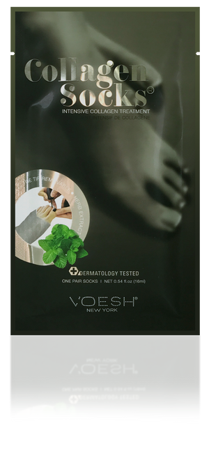 VOESH Collagen Socks with Peppermint, 1 pair