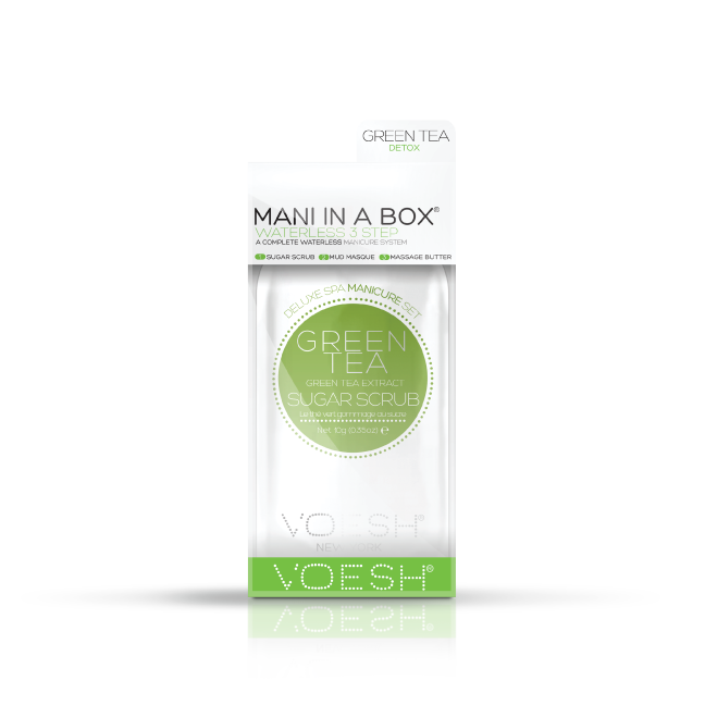 VOESH 3-step Mani-in-a-Box - Green Tea Detox
