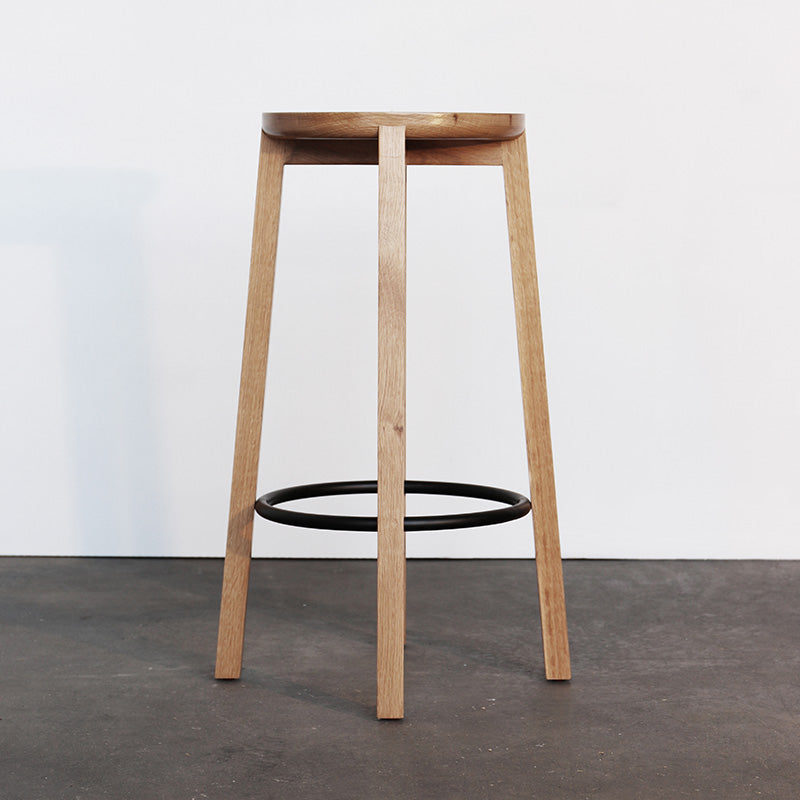 Cliff Stool Wood - Oak 660h