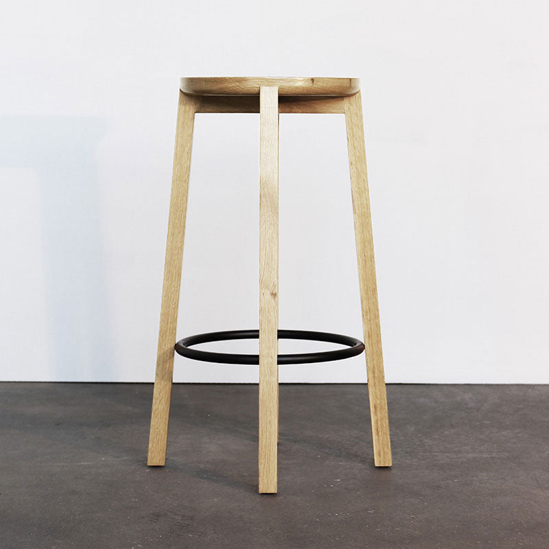 Cliff Stool Wood - Ash 660h