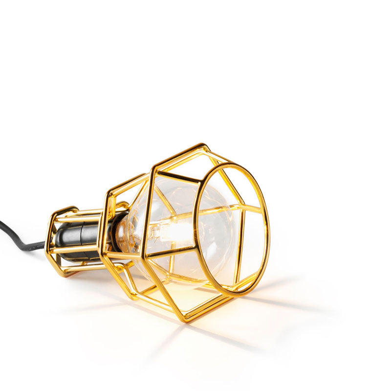 Work Lamp - Brass