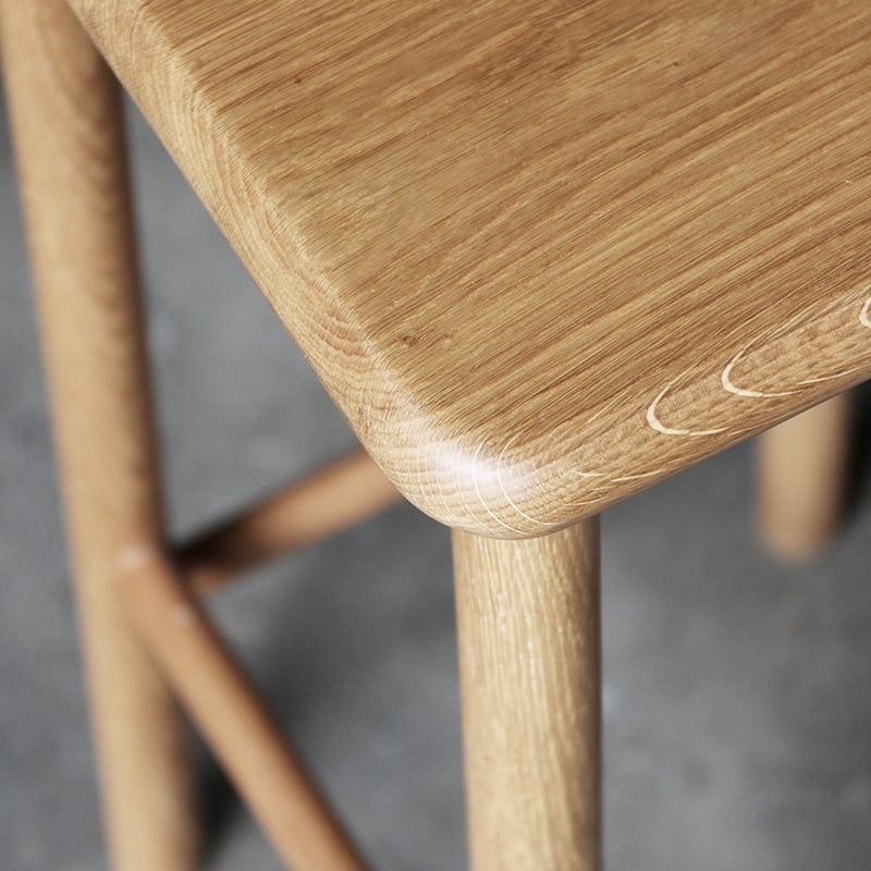 Maggie Stool Wood - Oak 660h