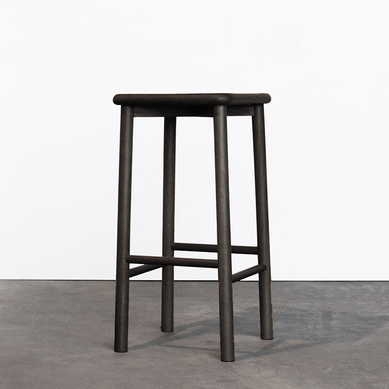Maggie Stool Wood - Black Oak 660h