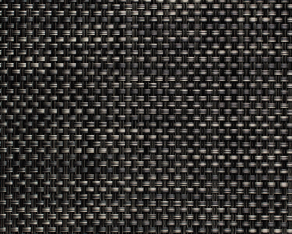 Woven Floormat Basketweave / Carbon