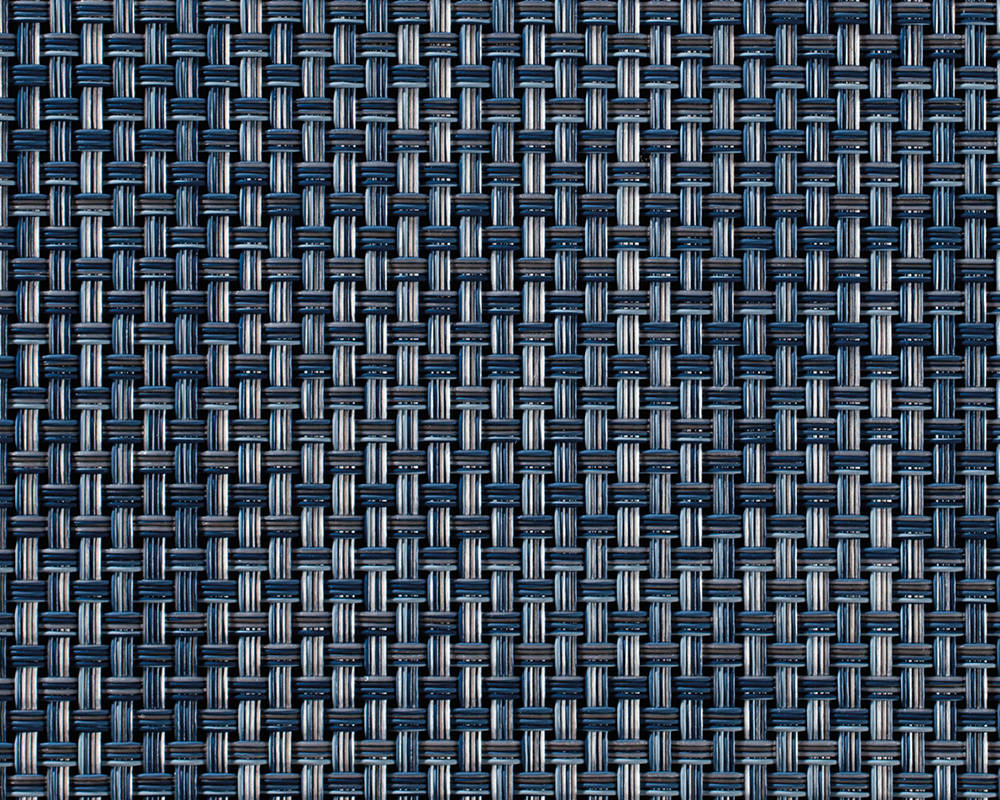 Woven Floormat Basketweave / Denim