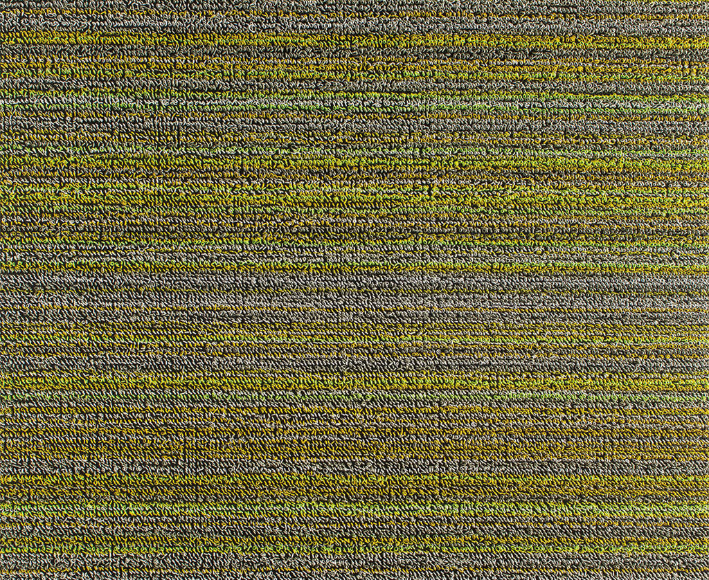 Shag In Out Mat Skinny Stripe / Citron