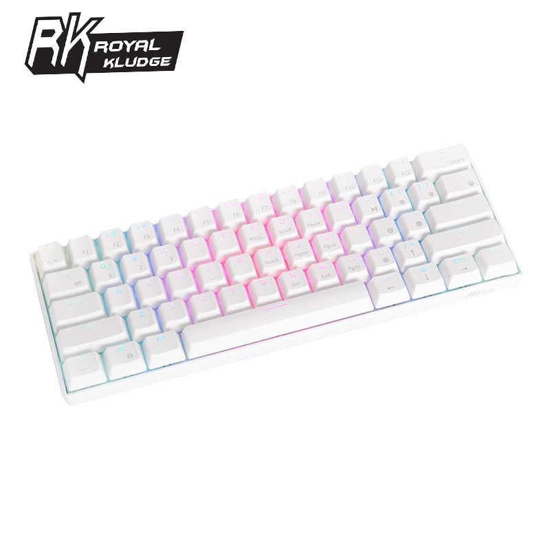 Gamers Boards Royal 60% RGB Mechanical Keyboard - Terendz