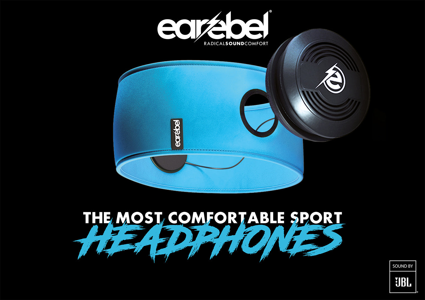 Earebel - The most comfortable Bluetooth Sport Headphone