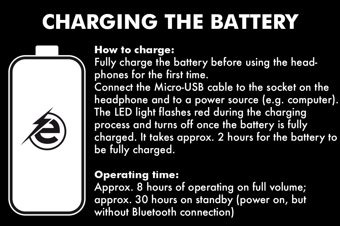 Charging the battery