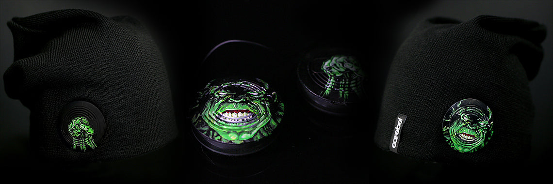 Earebel Artist Collection Hulk Headphone Beanie