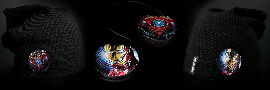 Earebel Artist Collection Iron Man Headphone Beanie
