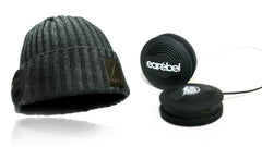 Earebel Steeze Beanie + Bluetooth Headphones