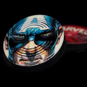 HANDBEMALT - Captain America - No.1/1