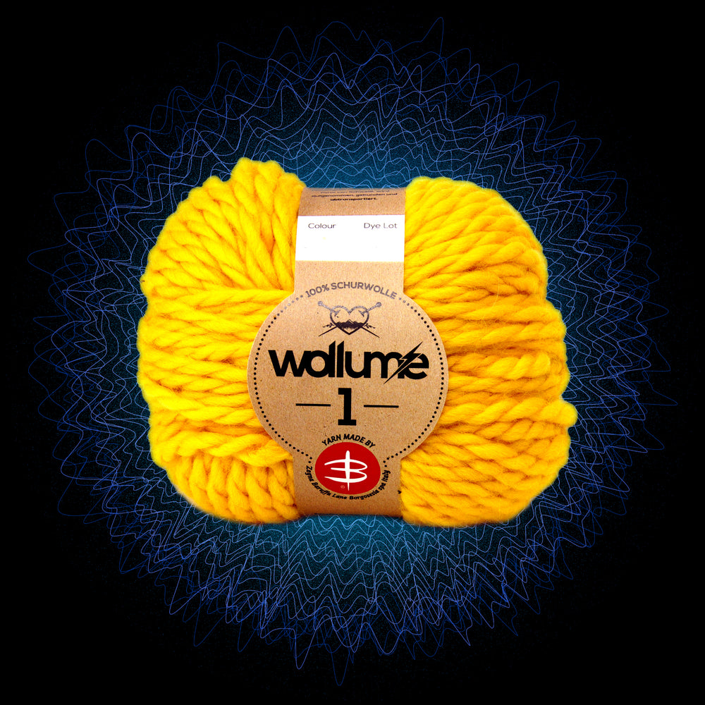 Wollume1 Pure Virgin Wool – Yellow