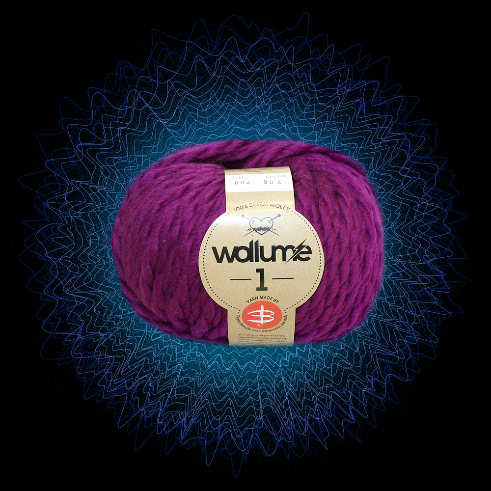 Wollume1 Pure Virgin Wool – Berry