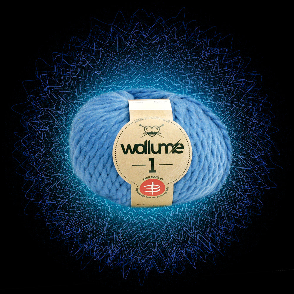 Wollume1 Pure Virgin Wool – Light-Blue