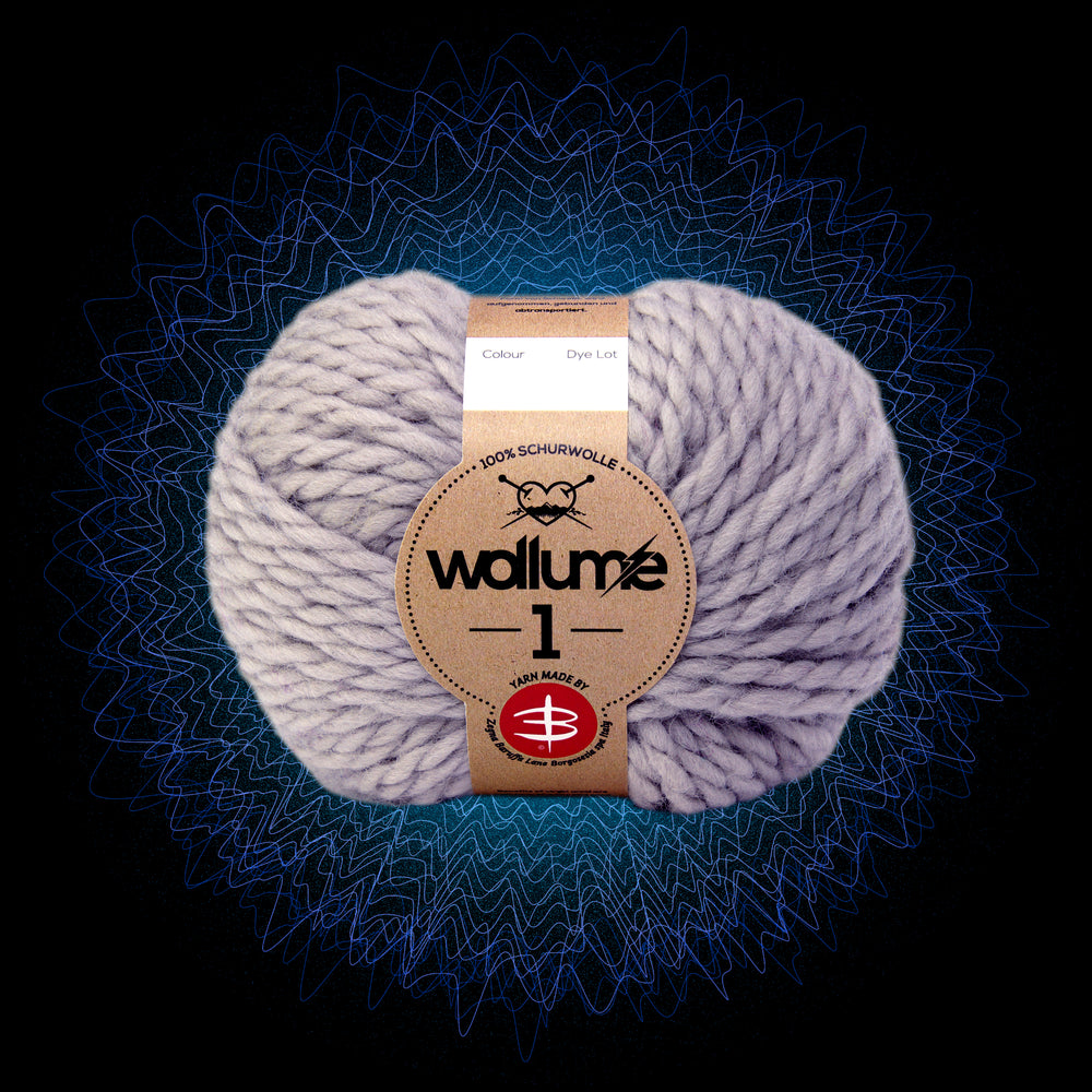 Wollume1 Pure Virgin Wool – Grey