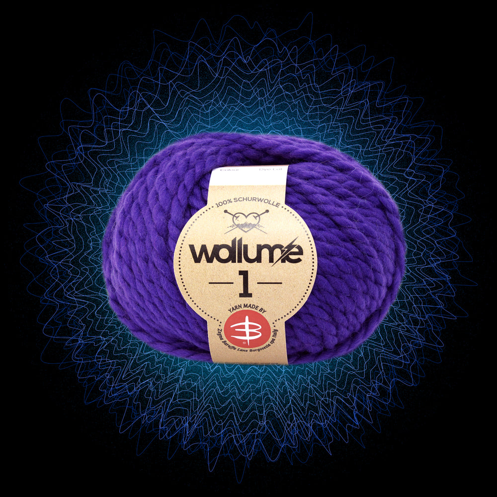 Wollume1 Pure Virgin Wool – Purple