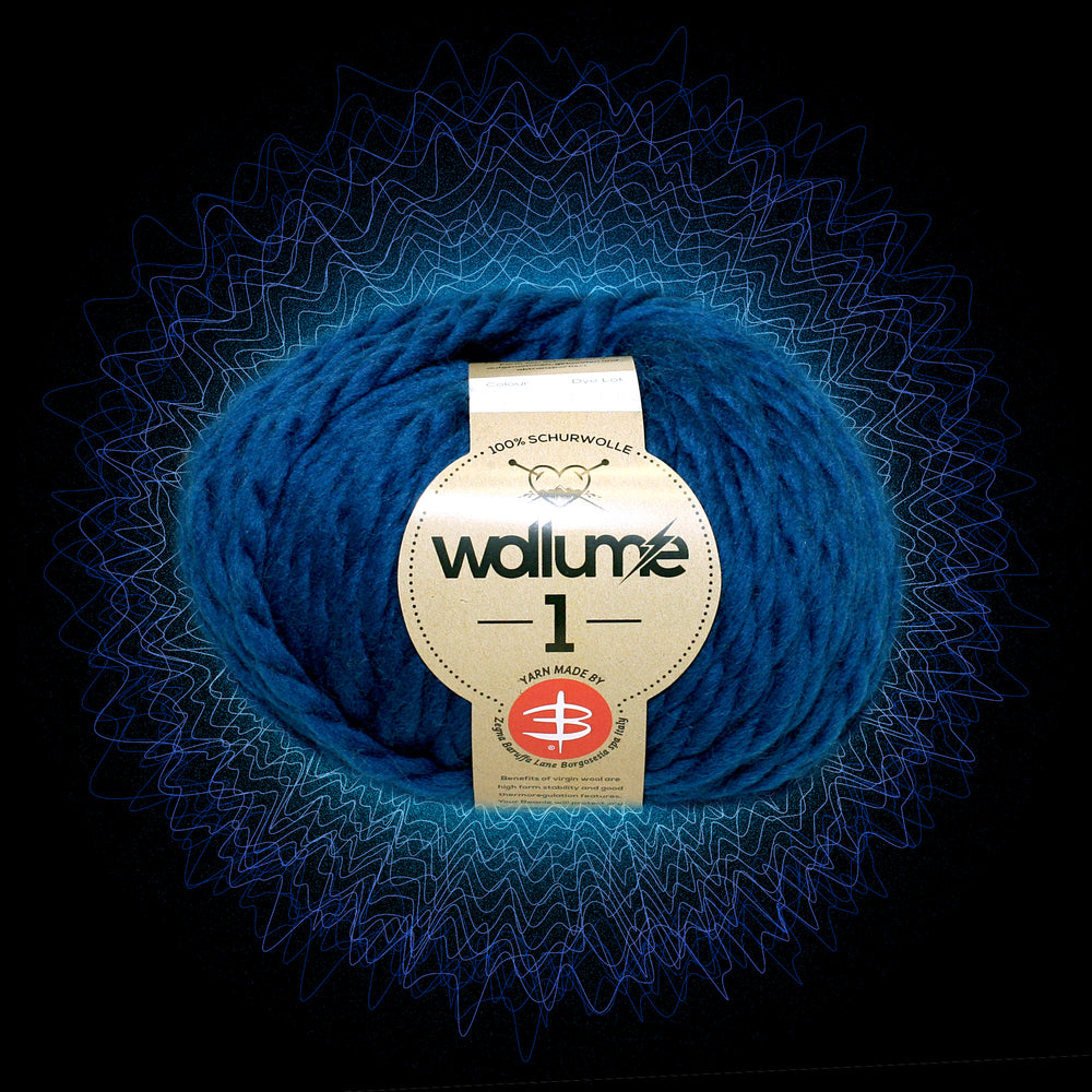 Wollume1 Pure Virgin Wool – Navy